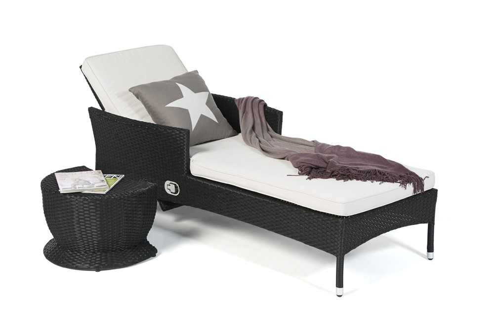 rattanliege liegestuhl gartenliege rattan liegestuhl. Black Bedroom Furniture Sets. Home Design Ideas