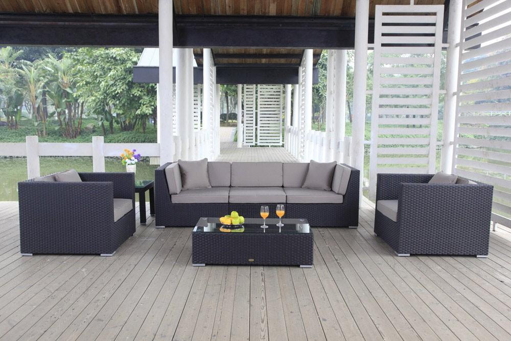 rattanm bel rattan lounge gartenm bel president. Black Bedroom Furniture Sets. Home Design Ideas