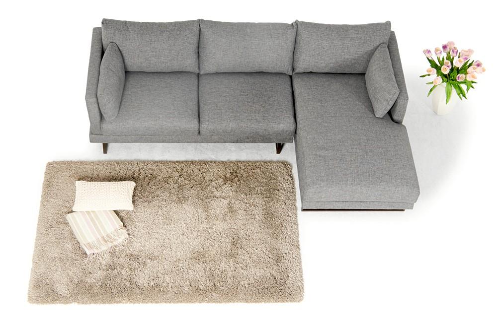 Martinotti sofa francesca grau wohnzimmer m bel for Sofa von oben