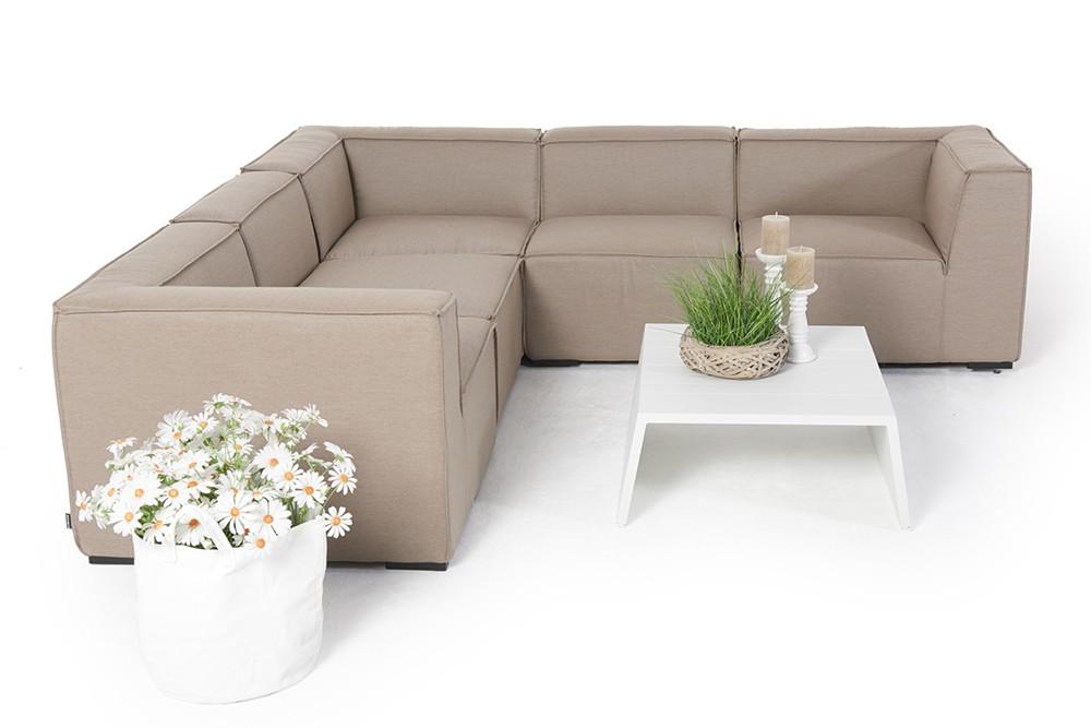 outdoor lounge sunbrella outdoorstoff wetterfeste outdoor lounge saidy in der farbe sandbraun. Black Bedroom Furniture Sets. Home Design Ideas
