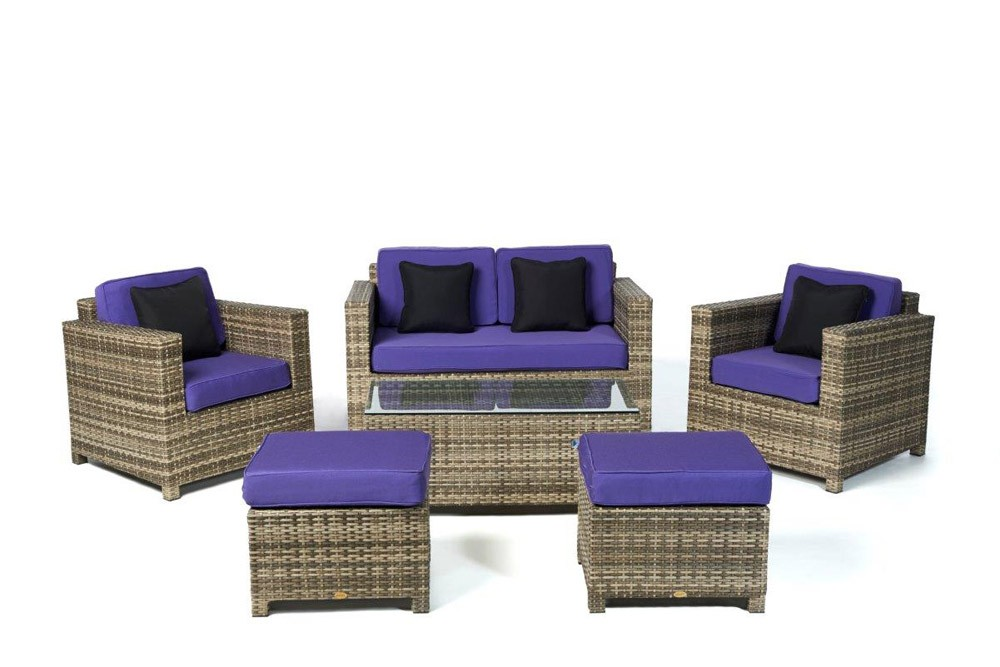 rattan gartenm bel rattan lounge rattanm bel dallas. Black Bedroom Furniture Sets. Home Design Ideas
