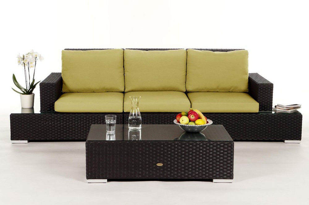 rattan gartenm bel rattanm bel samui rattan sofa. Black Bedroom Furniture Sets. Home Design Ideas