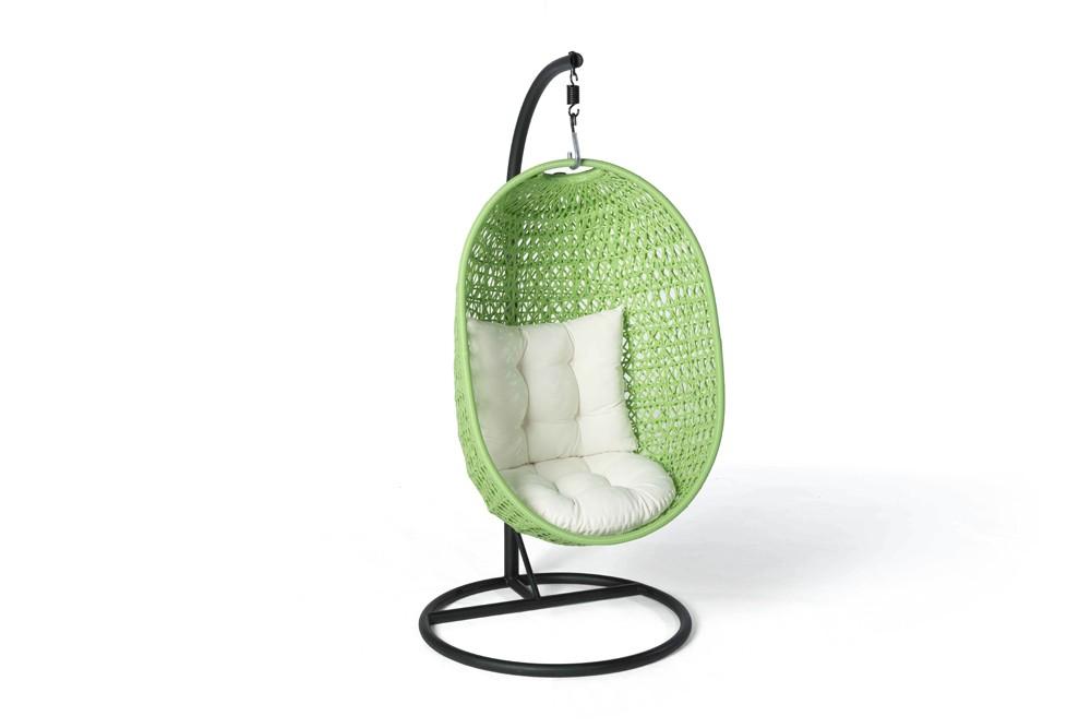 h ngekorb coco gr n rattanm bel. Black Bedroom Furniture Sets. Home Design Ideas