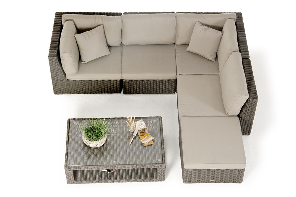 trendm bel elli rattan lounge dining set dass loungen und. Black Bedroom Furniture Sets. Home Design Ideas