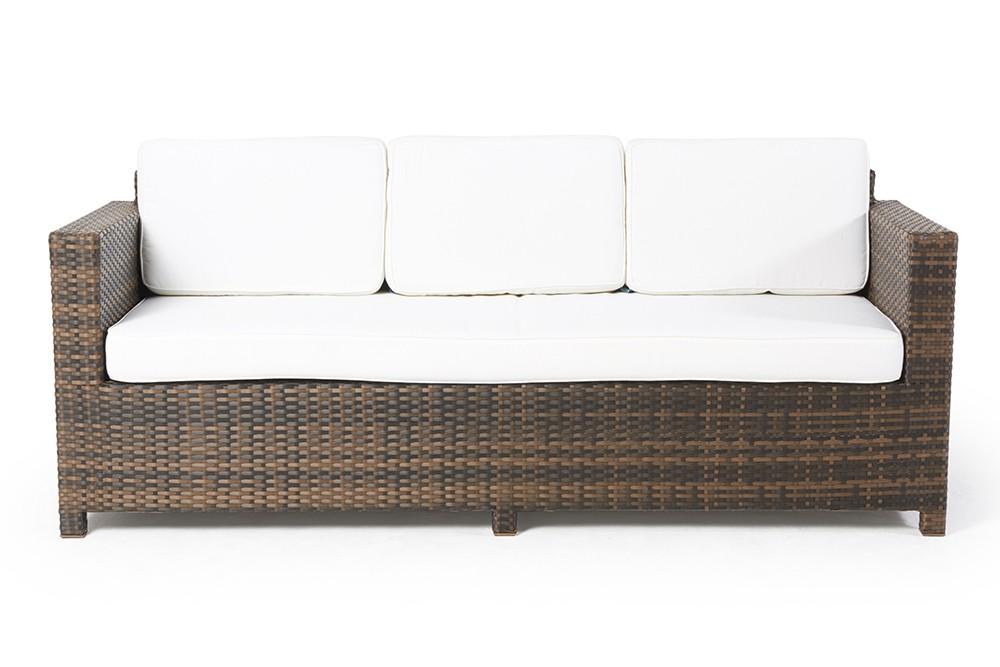 rattan lounge rattanm bel madsion deluxe braun rattan gartenm bel rattan sofas. Black Bedroom Furniture Sets. Home Design Ideas