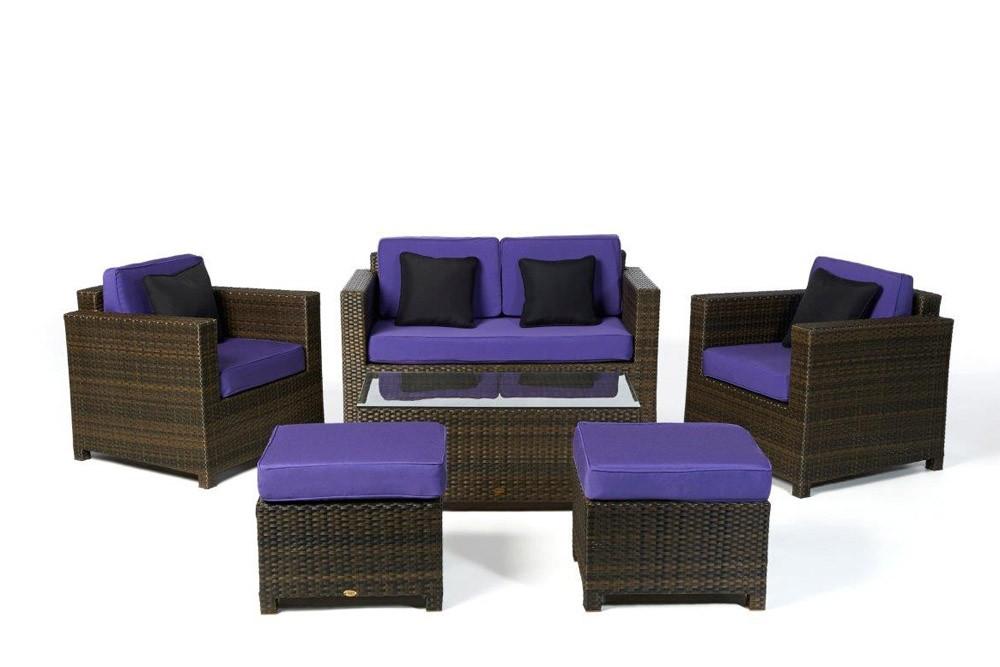 rattan lounge rattanmoebel rattan gartenm bel dallas braun. Black Bedroom Furniture Sets. Home Design Ideas