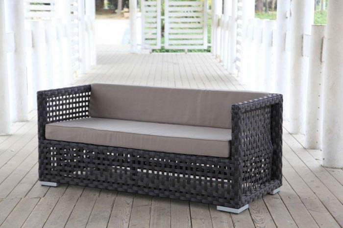 rattan rattanm bel rattan lounge rattan gartenlounge western dunkelbraun. Black Bedroom Furniture Sets. Home Design Ideas