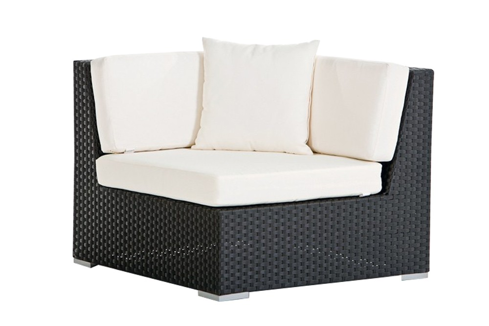 rattanm bel rattan garten lounge kleine lounge rattan garten sofa klein orient schwarz. Black Bedroom Furniture Sets. Home Design Ideas