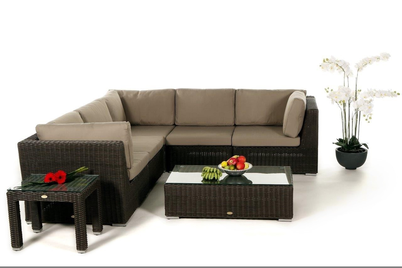 rattan lounge rattanm bel rattan gartenlounge rattan gartenm bel lounge denver braun. Black Bedroom Furniture Sets. Home Design Ideas