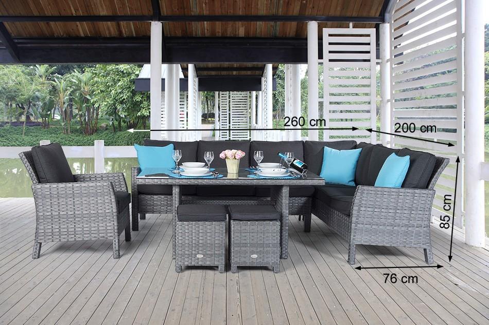 rattan lounge dining rattantisch mauritius