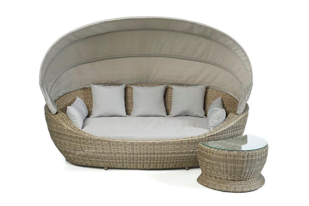 sonneninsel sonnenliege rattan insel rattan liege. Black Bedroom Furniture Sets. Home Design Ideas
