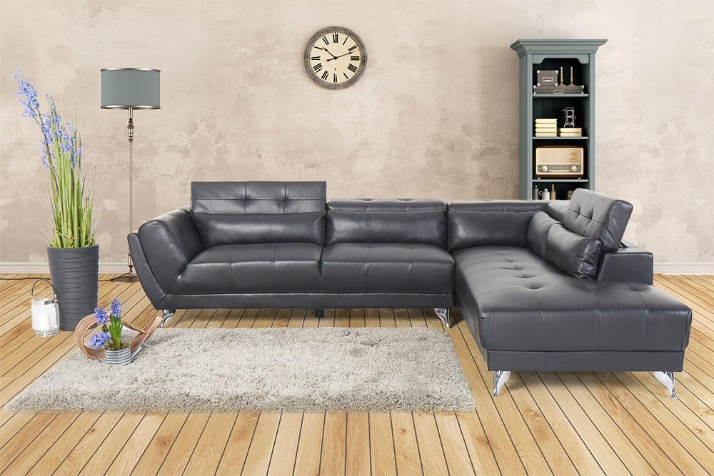 Wohnzimmer couch schwarz  Sofa - Martinotti Italia - Camilla Sofa - schwarz- Wohnzimmer ...