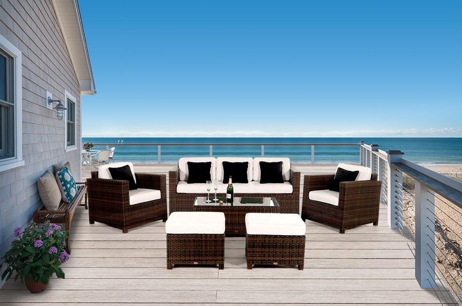 gartenm bel gartentische gartenst hle gartenlounge gartenmobiliar rimini luxus. Black Bedroom Furniture Sets. Home Design Ideas