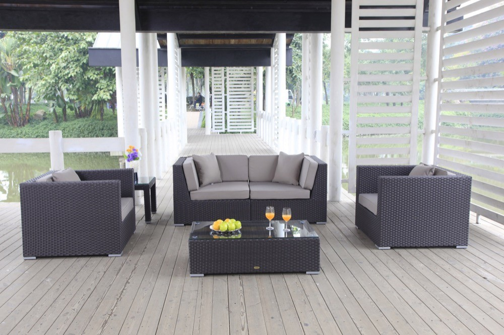 loungem bel rattan lounge cheffsessel gartenst hle gartensofa baron braun. Black Bedroom Furniture Sets. Home Design Ideas