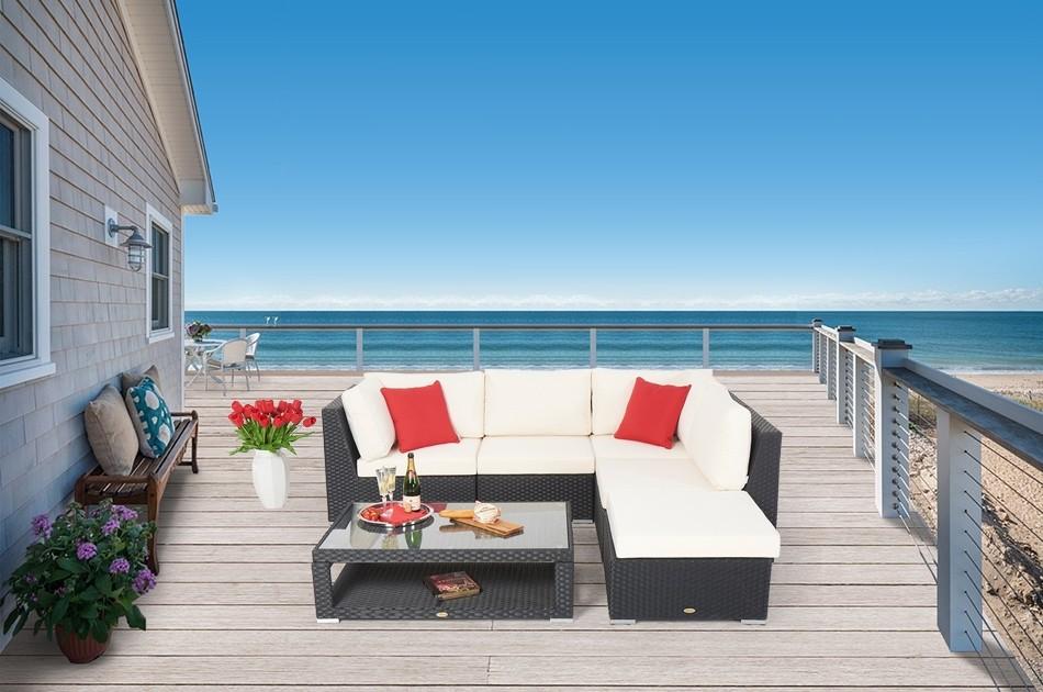 Rattan Lounge Dining Das Kombiset Für Den Garten Elli Lounge