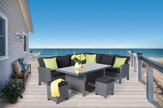 rattan lounge dining rattan esstisch gartentisch rattanm bel rattan gartenm bel online shop. Black Bedroom Furniture Sets. Home Design Ideas