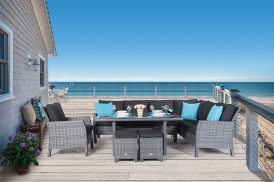 rattan rattanm bel rattan lounge gartenm bel outlet sale outdoor lounge. Black Bedroom Furniture Sets. Home Design Ideas