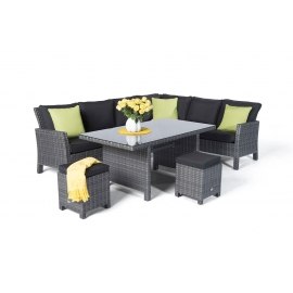 gartenm bel rattan lounge sitzgruppe gartenset rattan gartentisch rattan tischset. Black Bedroom Furniture Sets. Home Design Ideas