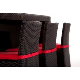 rattan bar rattan barset vip rattan barhocker mit r ckenlehne rattan barst hle mit. Black Bedroom Furniture Sets. Home Design Ideas