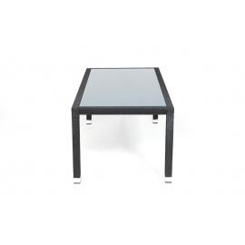 rattanm bel gartenausstattung der chai tisch besteht aus einem wetterfesten und pflegeleichtem. Black Bedroom Furniture Sets. Home Design Ideas