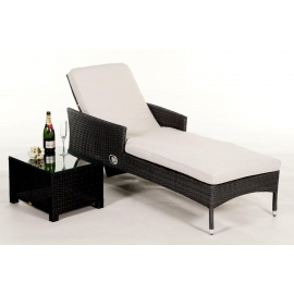 rattan liegestuhl rattan gartenm bel rattan liege. Black Bedroom Furniture Sets. Home Design Ideas