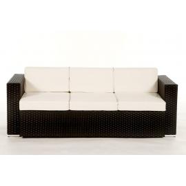Rattan gartenmöbel sofa  Rattan Gartenmöbel: Edle Rattan Lounge Niagara in der Farbe schwarz ...
