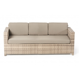 Rattan gartenmöbel sofa  Rattan Gartenmöbel - Rattan Lounge - Rimini - natural - Outdoor Set