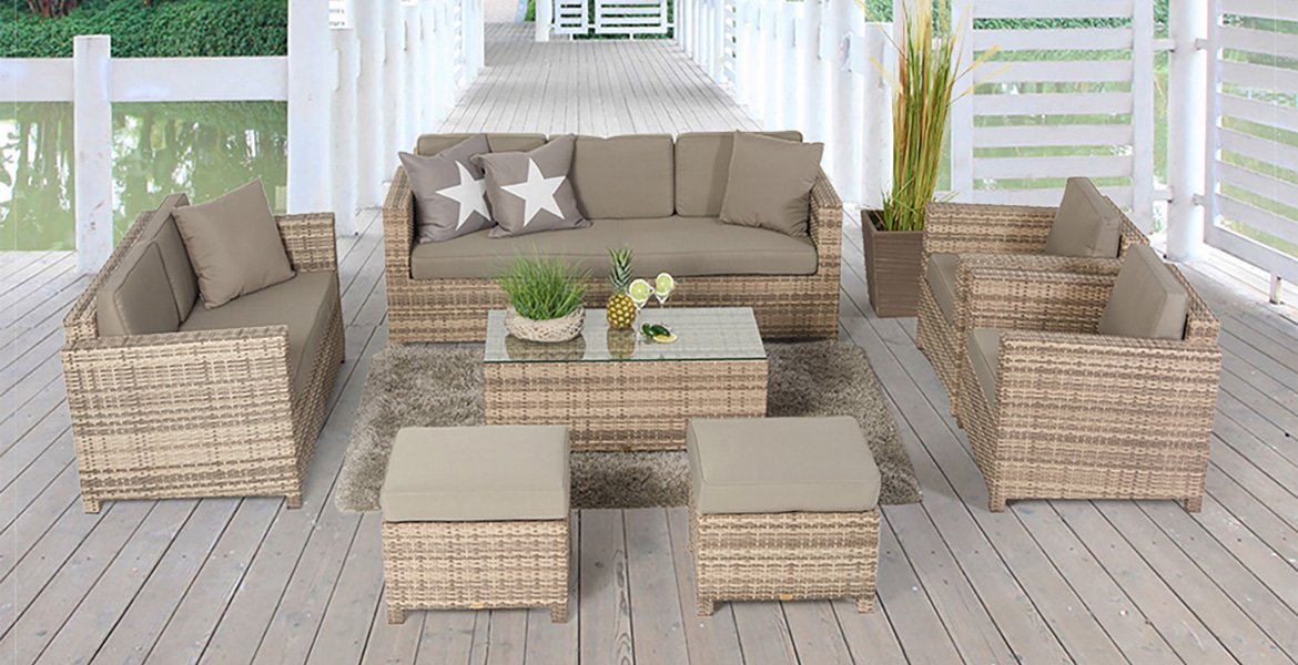 rattanm bel rattan gartenm bel und rattan lounges kaufen. Black Bedroom Furniture Sets. Home Design Ideas