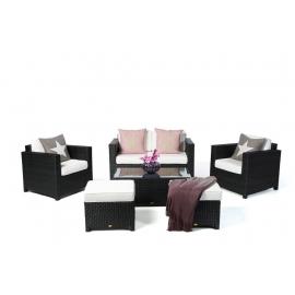 Dallas Luxus Lounge schwarz