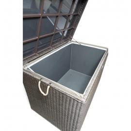 Relativ Grosse Rattan Kissenbox für den Garten - wasserfest - El Vado - braun FH74